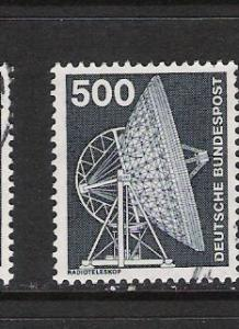 GERMANY 1192 VFU RADIO TELESCOPE N838 B