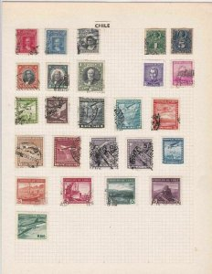 chile stamps ref r8691