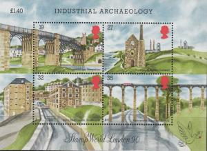 Great Britain - 1989 Industrial Archaeology Sc# 1284 - MNH (2003)