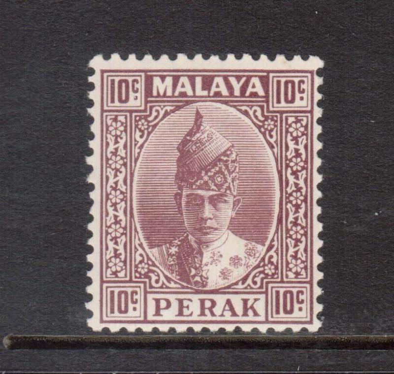 Malaya Perak #90 NH Mint