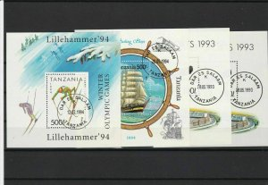 tanzania stamps ref r9662