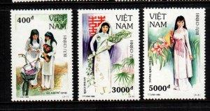 Vietnam  2597 - 2599  MNH cat $ 2.50