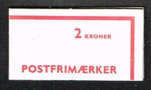 Denmark MNH Booklet Scott 544a