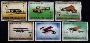 San Marino 1962 Vintage Aircraft, Part Set [Unused]