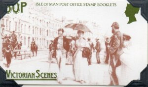 Isle of Man Sc 323a Victorian Scenes stamp booklet mint NH