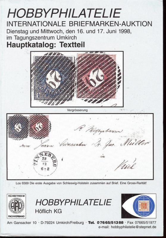 Internationale Briefmarken-Auktion, Hobbyphilatelie June ...