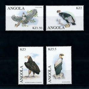[101613] Angola 2000 Birds vögel oiseaux of prey  MNH