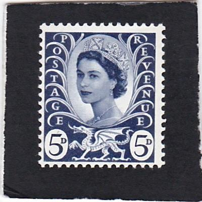 Great Britain;  Wales &  Monmouthshire;  #  11   MNH.