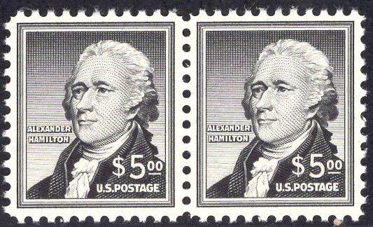 US Stamp #1053 Pair Mint NH SCV $95