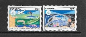 FISH - SENEGAL #1338-9  MNH