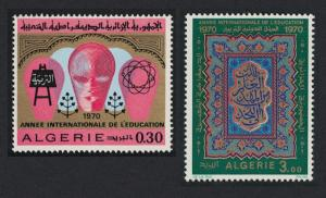 Algeria International Education Year 2v SG#568-569