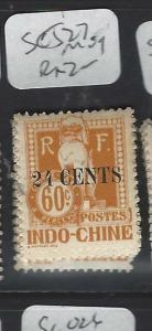 FRENCH INDOCHINA (P0401B)  POSTAGE DUE SC J27  MOG