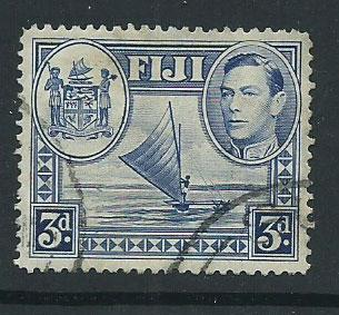 Fiji    SG 257  Used tiny thin