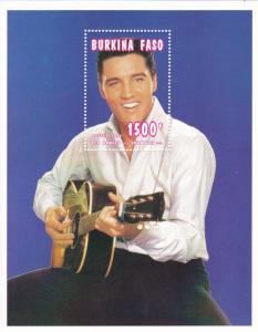 Burkina Faso # 1062, Elvis Presley Souvenir Sheet, NH, 1/2 Cat.