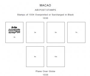 MACAO STAMP ALBUM PAGES 1884-2011 (283 PDF digital pages)