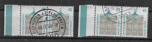 Germany PAIR  used 1990 Mi 1468