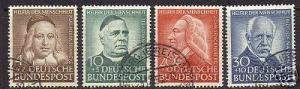 Germany #B334 - #B337 VF Used Set