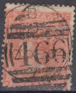 Great Britain #34a Fine Used CV $120.00 (A6851)