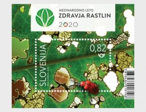 Slovenia 2020 International Year of Plant Health M/S MNH