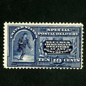 US Stamps # E5 F-VF Fresh OG VLH Scott Value $210.00