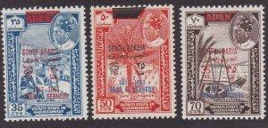 Aden - Quaiti State in Hadhramaut M# 68-69, John F. Kennedy, NH