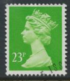 Great Britain SG X966 Sc# MH123    Used with first day cancel - Machin 23p