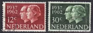 NETHERLANDS 389-90 **USED** ROYALTY