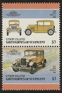 St. Vincent Grenadines  Union Island MNH S.C.#  163
