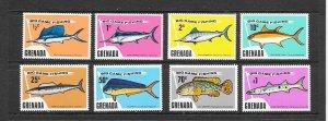 FISH - GRENADA #603-10  BIG GAME FISHING MH