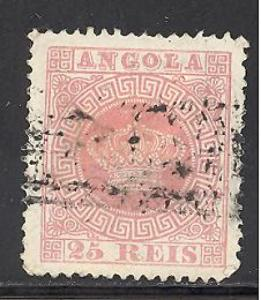 Angola 4 used SCV $ 11.00 (RS)