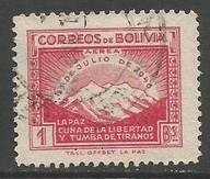 BOLIVIA C113 VFU L237