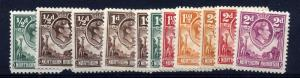 Northern Rhodesia 1938 SG 25-45 set of 21, fine lightly mounted mint