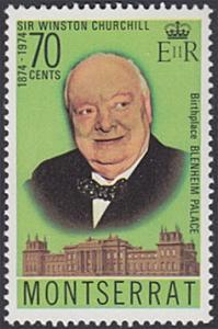 Montserrat # 313 mnh ~ 70¢ Winston Churchill