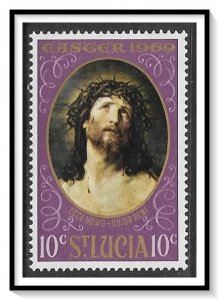 St Lucia #245 Easter Paintings MNH