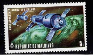 Maldive Islands Scott 487 MNH** Copernicus Futuristic flight station