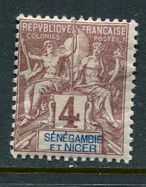 Senegambia & Niger #3 Mint
