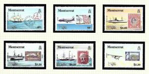 Montserrat 414-19 MNH 1980 London Expo
