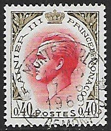 Monaco # 725 - Prince Rainier III - 0.40F - used - {BRN24}