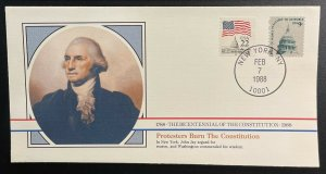 US #1591,2115 On Cover - Bicentennial of Constitution 1787-1987 [BIC51]