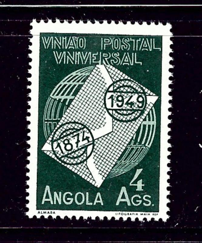 Angola 327 MNH 1949 UPU 75th Anniversary