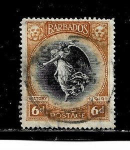 Barbados Stamp- Scott # 147/A16-6p-Canc/LH-1920-OG