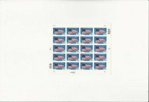 US Stamps/Postage/Sheets Sc #3508 Flag-Honoring Veterans MNH F-VF OG FV 6.80