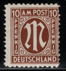 Germany AM Post Scott # 3N7, mint nh