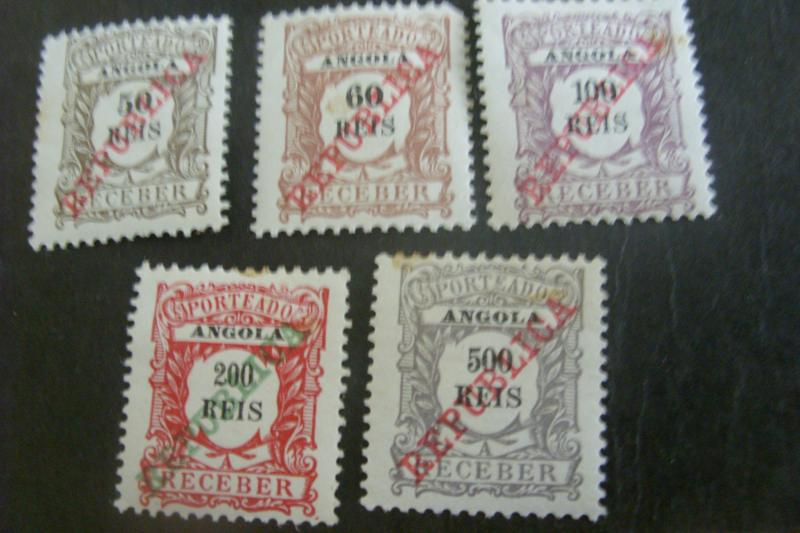 Angola Postage Due Stamps