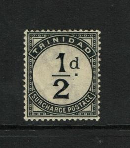Trinidad SG# D1 Mint Hinged / Hinge & Light Page Rem - S6278