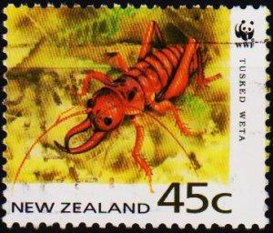 New Zealand. 1993 45c S.G.1740 Fine Used