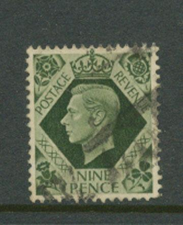 Great Britain GVI  SG 473 Good used
