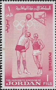 JORDAN, 446-448,450, MINT HINGED, OLYMPICS