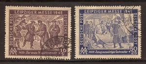 Germany  #  10 N  B - 1 & 2  used