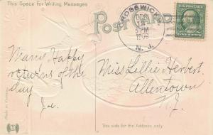 United States New Jersey Crosswicks 1909 doane 3/5  PC.